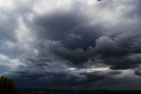 Dramatic skies before the hurricane Archivio Fotografico