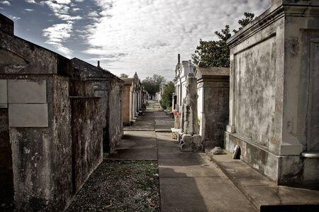 St. Roch Friedhof in New Orleans Standard-Bild - 10891636