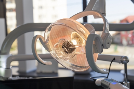 Dentist chair tools Light bulb Stock Photo - 15928777