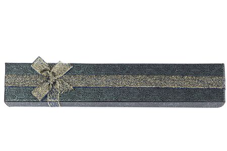 jewellry: Long Jewellry box isolated on white background
