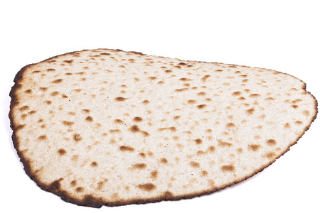 Isolated Round Matzah Shmura Saved Jewish Pesach Tradition