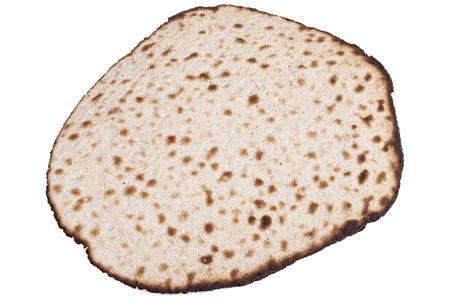 Isolated Round Matzah Shmura Saved Jewish Pesach Tradition