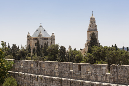 Two Curch in the old city of Jerusalem