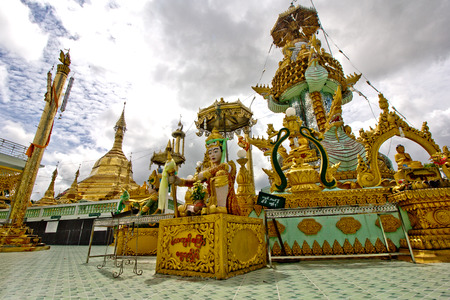 yaw: Kyaik Ma Yaw,mon State,Myanmar Stock Photo
