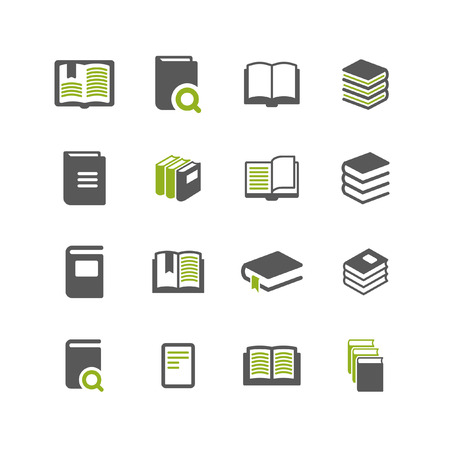 book: book icon set