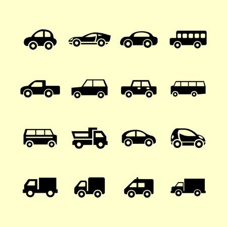 car icon set Ilustração