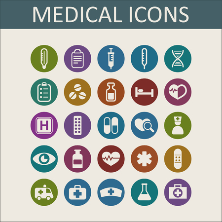 health care: medical icon set