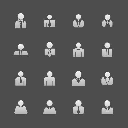 profile icon set Vector