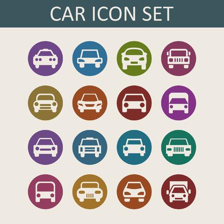 car icons Vector
