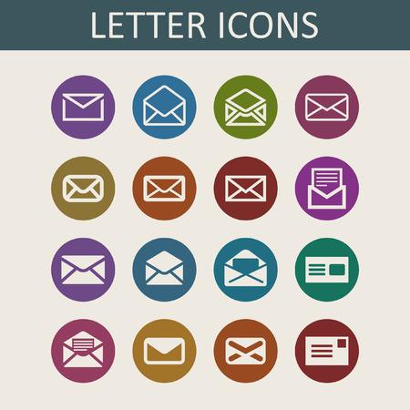 unread: mail icon set