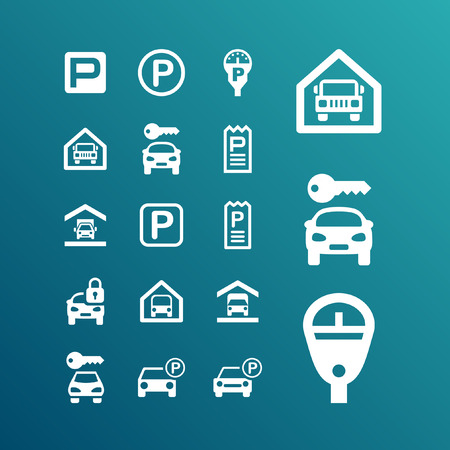 Park Icon-Set