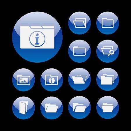 archive site: folder icon set