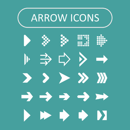 previous: arrow icon set