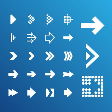 forward icon: arrow icon set