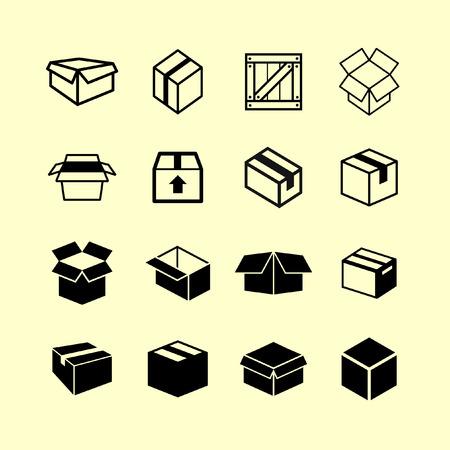 box icon set