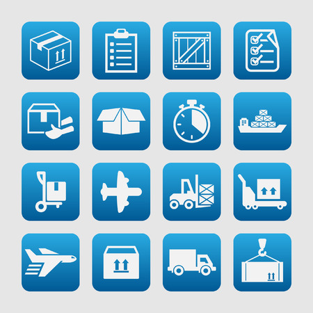 air speed: delivery icons