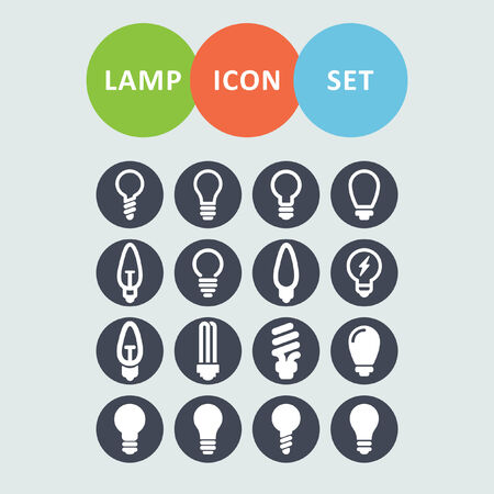lamp icons Vector