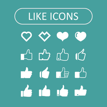 like icons Vector