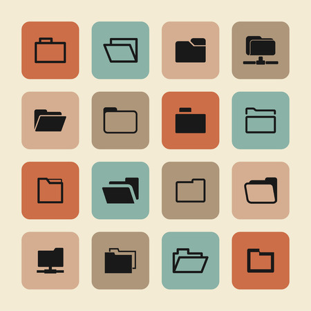 uploading: foder icon set