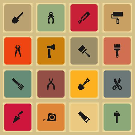 nipper: tool build repair icon set