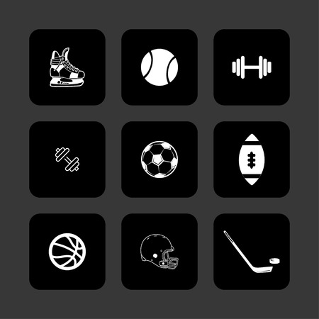 sport ball competition game playsport ball competition Vector
