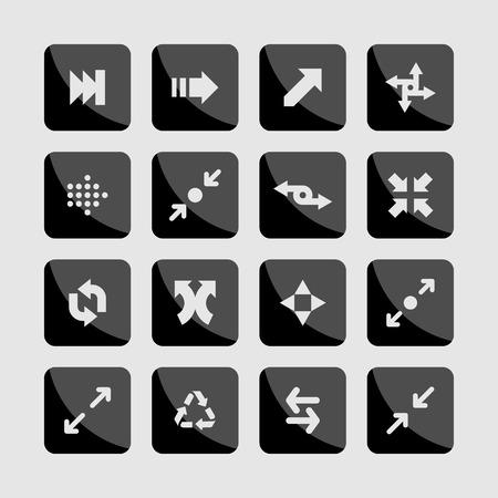 arrow icons Ilustração