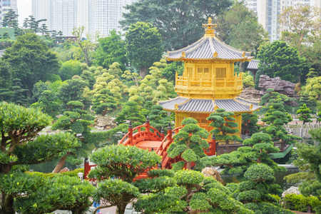 perfection: The Golden Pavilion of Perfection in Nan Lian Garden