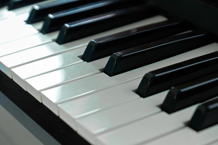 ''close up'': Piano Close up Selective focused. Stock Photo
