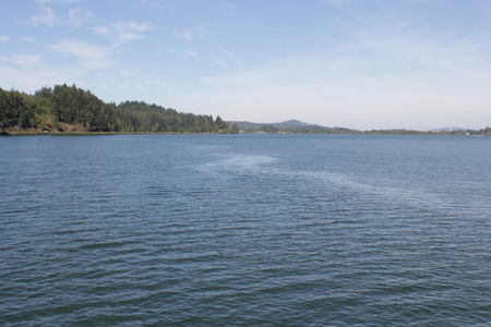 perfect waves: Dexter Lake Boat Trail