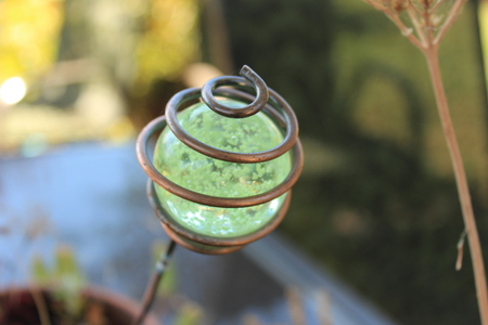 Copper Garden Green Glass
