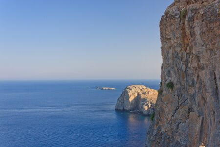 cliff above the sea Stock Photo - 12965875