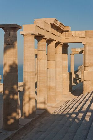 Ancient Greek acropolis in Lindos