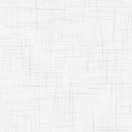 White linen seamless texture. EPS10 vector illustration Ilustração