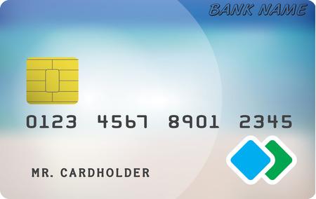 Variant of credit or debit card.