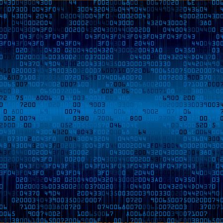 Fondo di sicurezza blu con HEX-codice. Illustrazione vettoriale Archivio Fotografico - 31817486