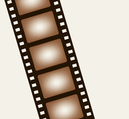Background from negative film strip. Vector illustration Vector