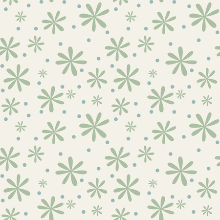 camomiles: Seamless floral background with camomiles Illustration