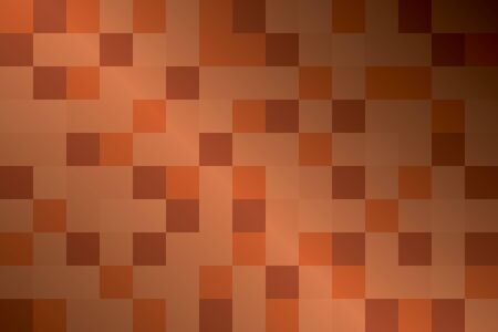 orange pattern: Abstract orange pattern for background of squares. Vector illustration