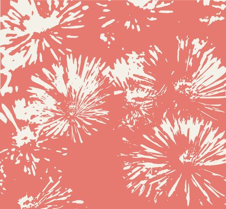 camomiles: Retro floral background with camomiles. Vector illustration