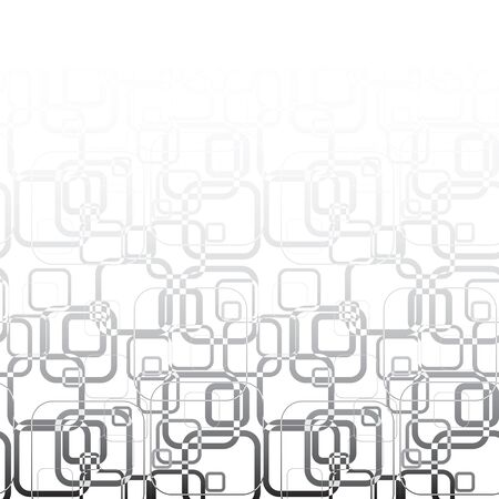 Abstract background. Pattern was made from squares with rounded corners. Vector illustration Illustration