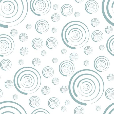 rounds: Seamless pattern of rounds for background  in pastel colors. Vector illustration