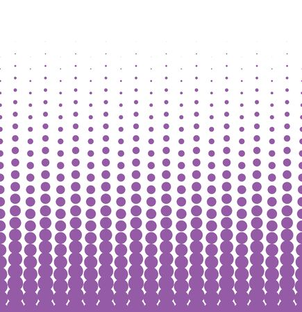 repetition row: Seamless halftone background with violet color. Vector illustration Illustration