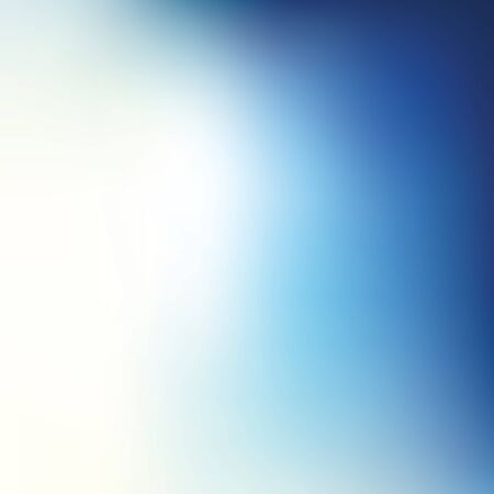 peaceful background: Vector illustration of abstract blur blue background