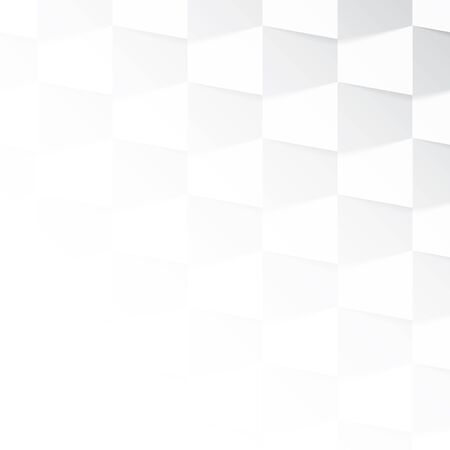 Gray and white gradient background made from trapeze. Vector illustration