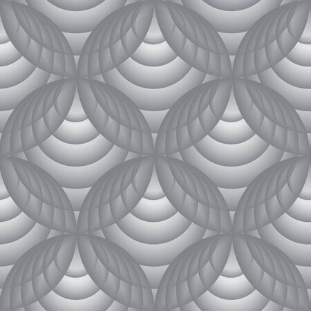 rounds: Seamless background pattern with rounds. Vector illustration Illustration