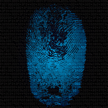 hexadecimal: fingerprint and hexadecimal code