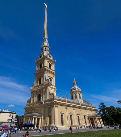 Peter and Paul Cathedral in St. Petersburg