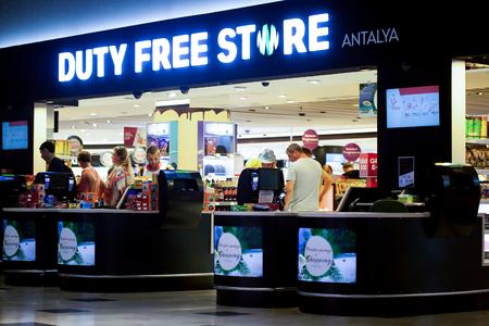 light duty: Duty Free Shop in International airport