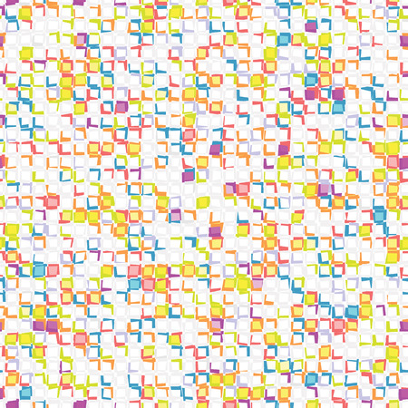 Abstract seamless mosaic with squares.
