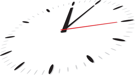 Classic round wall clock